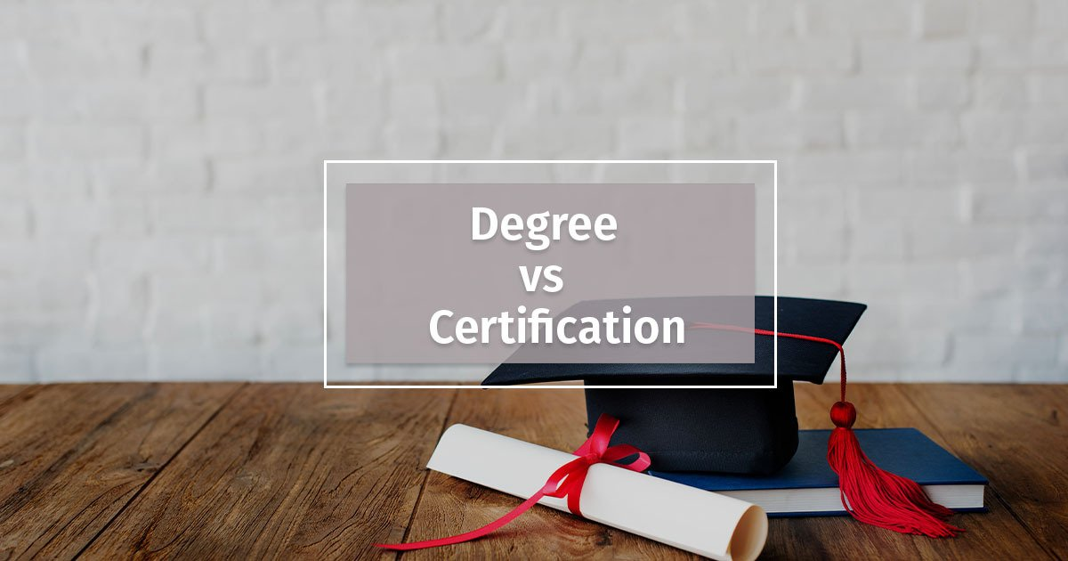 degrees or certifications