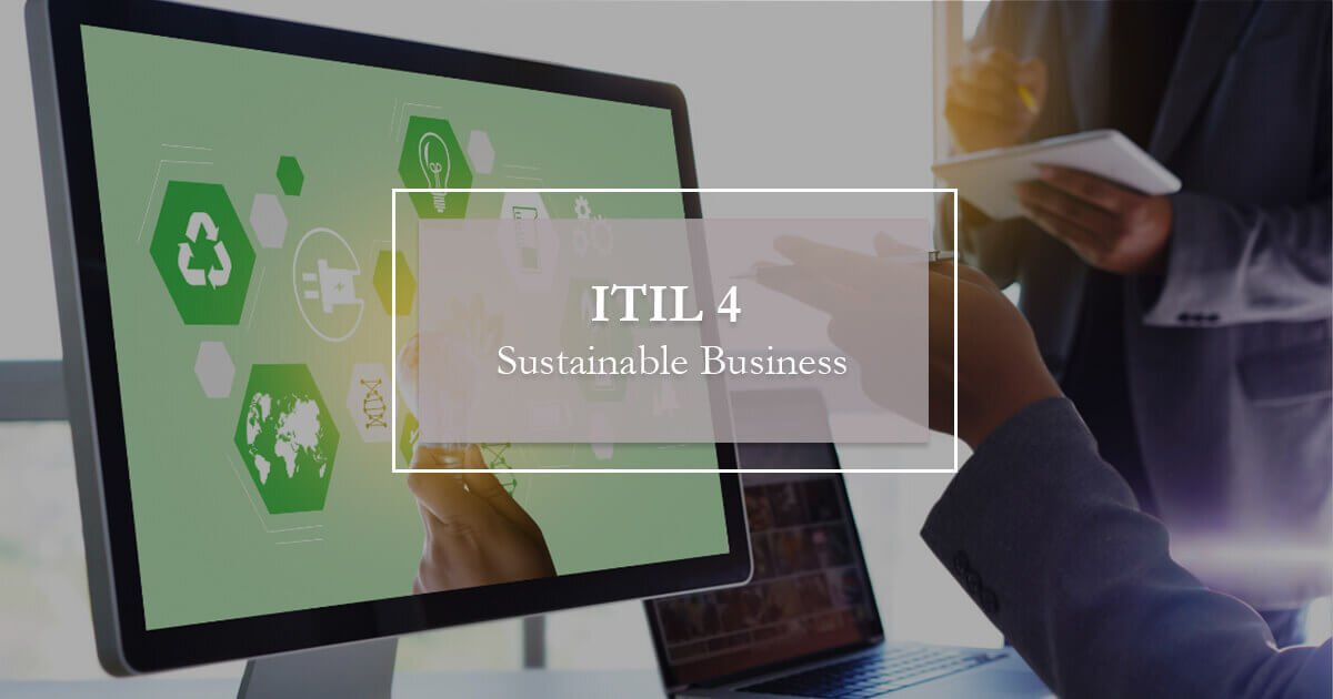 itil4 sustainable business